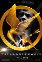 Hunger Games Marvel Poster by heatona