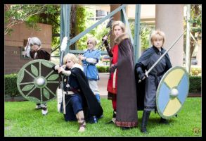 Hetalia - Viking Invasion by Kuragiman