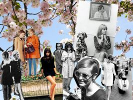 Sixties Collage by fiirsttherain