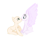MLP Base 157 Surprise Kisses by Sakyas-Bases