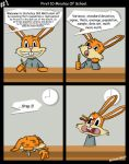 Bunny Comic 1 by theworldiveknown