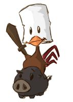 Chiken knight by Cusso82