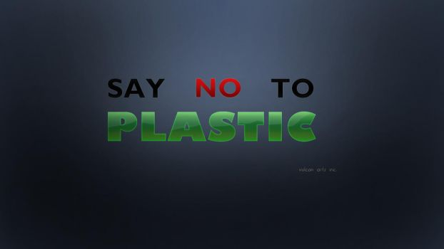 Say no to plastic. by thoshi11