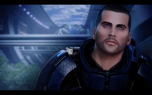 Mass Effect 2 Shepard by AgataFoxxx