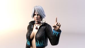 3DS Max - Christie Render by SilverMoonCrystal