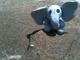 Toy elephant sculpture by Verymary1