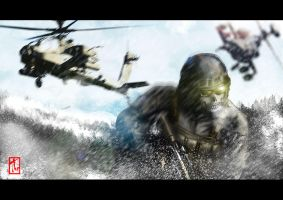 GHOST- MODERN WARFARE by Jupiterjam