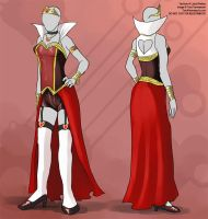 [Fashion Commission]  Queen Of Hearts Costume by Ulario