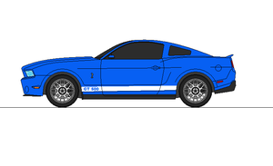 2012 Mustang Shelby GT 500 by airsoftfarmer