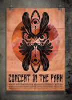PosterVine Concert in the Park Poster by PosterVine