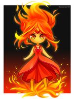 Flame Princess by RacoonKun