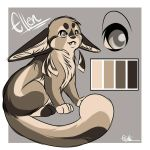 Palette Adoptable: Ellen by Espherio