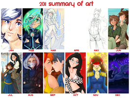 2011 Summary of Art by BellaCielo