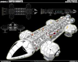 Space 1999 Eagle Transporter 3 by cosedimarco
