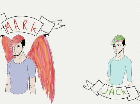 Mark and Jack sketch by Jesscurious13