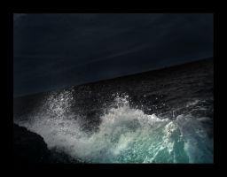 Stormy waters by berttheturt