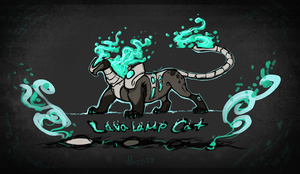 Lavalamp Cat -  CE Unique Point Auction - CLOSED by Ganja-Shark