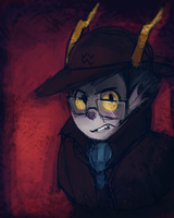 Detective Eridan by Sylladexter