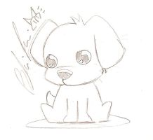Puppy for Ganen by Lezithian