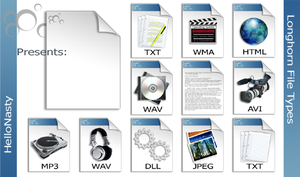 File Types by Hell0Nasty
