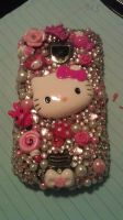 Hello Kitty Decoden Cell Phone Case by sweetgeekpanda