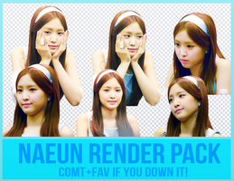 Naeun Render Pack by Know-chan