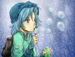 Blowing Bubbles by asdfzxc321