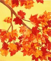 Autumn Fire by Artistically