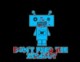Don't Feed The Zombot by 13Ghouls