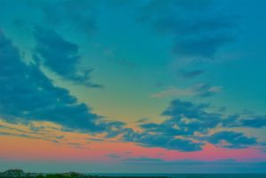 Beach Sunset view in the East December 27 2014 4 by ENT2PRI9SE