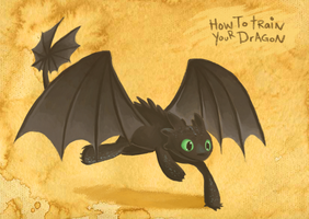Toothless by Pace-Eterna
