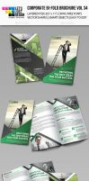 Creative Corporate Bi-Fold Brochure Vol 34 by jasonmendes
