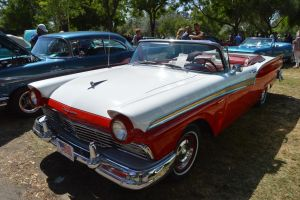 1957 Ford Fairlane 500 Convertible II by Brooklyn47