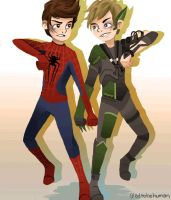 Peter and Harry by eas123