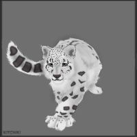 Snow Leopard by Kitchiki