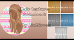 [MMD][DL] - Hair Texture Download! by LinMaro18