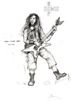 Dimebag Darrell RIP by the-deceived
