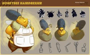 Bee Hairdresser by mikepetherick