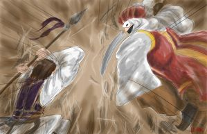 HETALIA otoman empire vs greece by sanjikiss