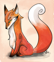 Random Little Fox by Karol-Wolf