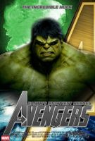 Poster Hulk The Avengers by Alex4everdn