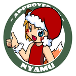 Approved By Christmas Nyamu 2012 by NyamuKitsune