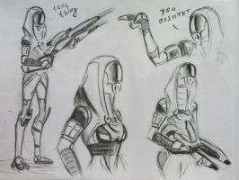 sketches Tali (72) by spaceMAXmarine