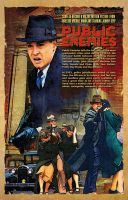 Public Enemies - Bank Scene by kingsley-wallis