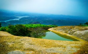 Savanna Durga Hill Top View by YadavThyagaraj