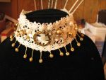 Gold and Lace Choker by OliveDragon23