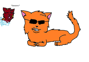 Firestar's Too Cool For You by foxopathic