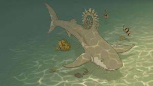 Helicoprion Concept 3 by BlayneFox