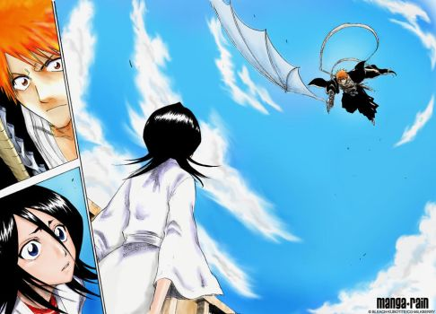 BLEACH: save her, death by milkberry