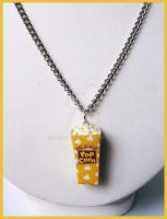 Pop Corn Necklace by cherryboop